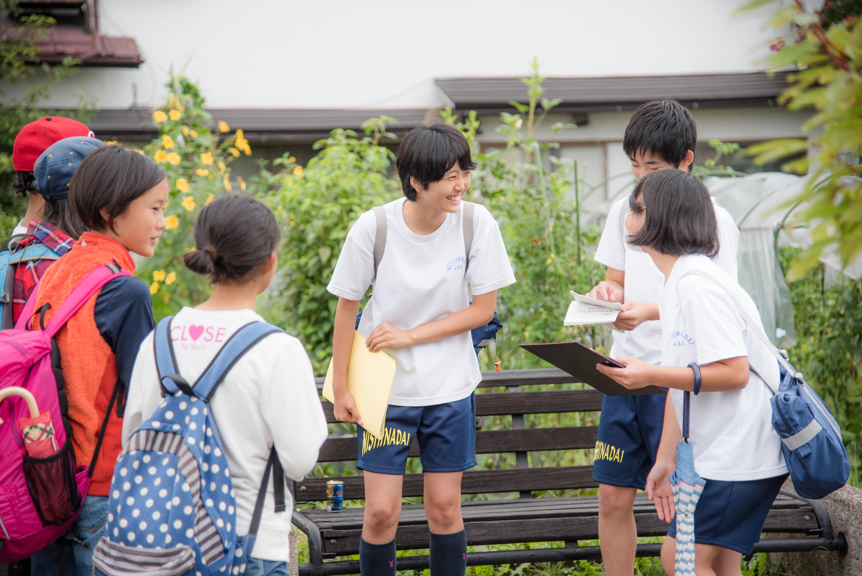 地域学習で町歩き!武蔵野市立第五中学校と大町市立仁科台中学校が地域間交流